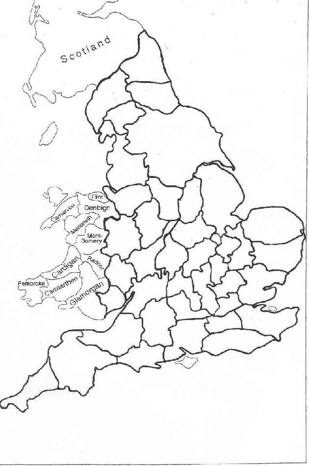 map quiz 1 the historic counties of england practice